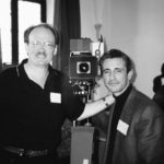 Larry Mconkey and me (Venice 1997).
